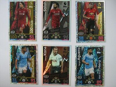 Match Attax Extra 2018/19 Choose Limited Edition, MOM, 100 Club, Hat-trick Hero