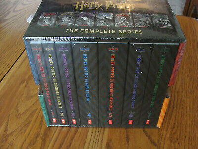 Harry Potter The Complete Series Boxed Set, J. K. Rowling (Paperback) New Sealed