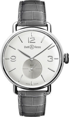 Ww1-Argentium-Opalin | Brand New Authentic Bell & Ross Vintage Men's Watch