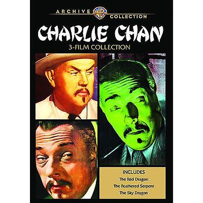 Charlie Chan 3-Film Collection DVD