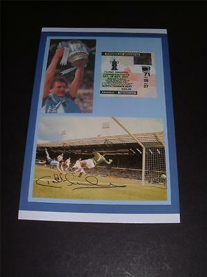 Coventry City Fc 1987 Fa Cup Final Keith Houchen Signed Reprint Photo