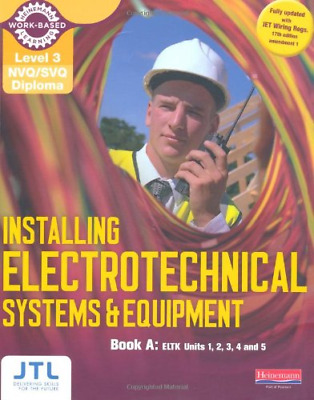 A Level 3 NVQ/SVQ Diploma Installing Electrotechnical Systems and Equipment Cand