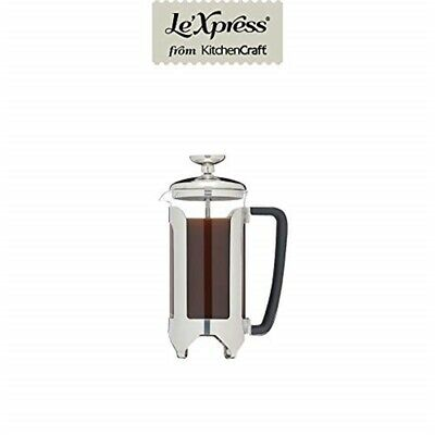 Kc Lx Cafetiere 3 Cup Stainless Steel
