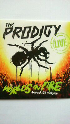 the Prodigy world's on fire 4 track cd sampler promo card 2011