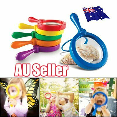 Kids Jumbo Magnifying Glass Learning Resources Educational Toys for Children J6