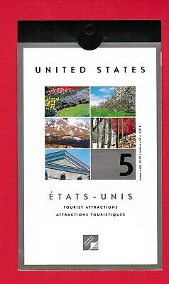 2001 Canada Stamps  Booklet # Bk243  # 1903  Tourist Attractions  Jt18