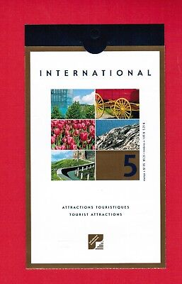 2001 Canada Stamps  Booklet # Bk244  # 1904  Tourist Attractions  Jt18