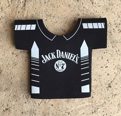 Jack Daniel's Racing Brand New Folds Flat Shirt Shaped Can Cooler Stubby Holder
