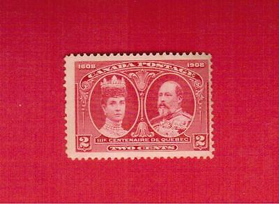 1908  # 98 ** Fnh  Timbre  Canada  Stamp  King Edward Vii & Queen Alexandra 2775