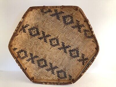AUTHENTIC NATIVE AMERICAN MISSISSIPPI CHOCTAW INDIAN Woven