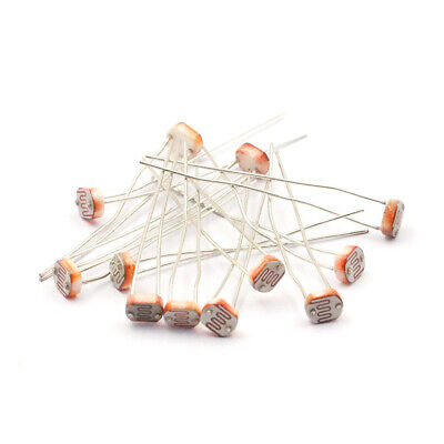 10pcs GL5549 5549 5mm LDR photoresistor Light-dependent resistor