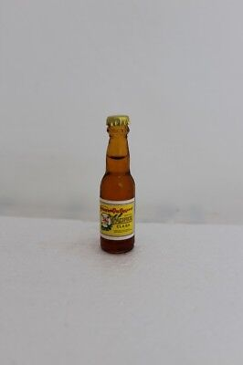 CERVEZA PACIFICO IMPORTED BEER Miniature 3 inch Glass Bottle -made in Argentina