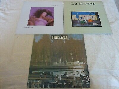 Kate Bush/cat Stevens/the Beach Boys - 3 X Classic Rock Lp Bundle - Vg Sale