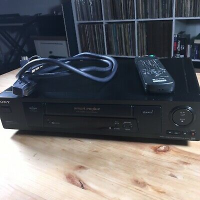 Sony Video Tape Player/recorder Vcr Ntsc Playback On Pal Tv Slv-Se700G Black Vhs