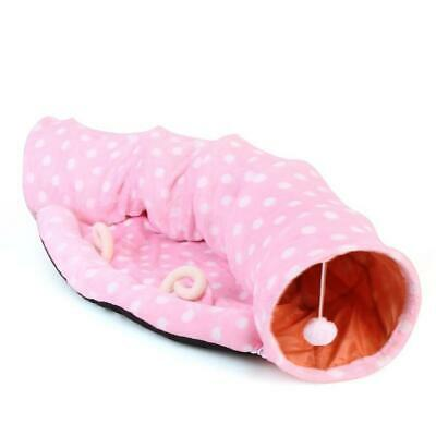 Pet tunnel cat sleeping bag bed