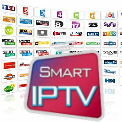 Smart Iptv Android +15000 Chaines  1 An Abonnement Mag Box M3U