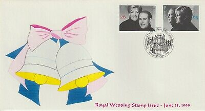 Stamps 1999 Royal Wedding Windsor Heyden First Day Cover Postal History