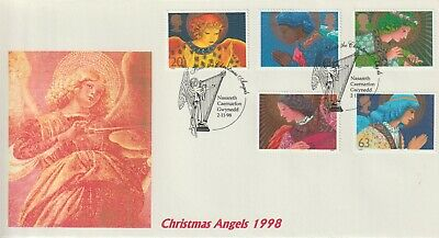 Stamps 1998 Christmas Caernarfon Heyden First Day Cover Postal History