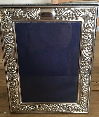 Hallmarked Silver Picture Frame. Sterling Silver Photo Frame R Carr 1997