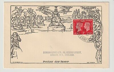 Stamps 1940 Penny Black Bournemouth Exhibition Souvenir Cover Postal History