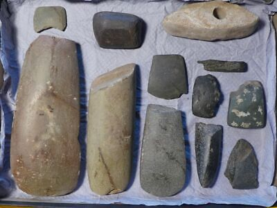 Superb: Old Collection Of Tools/weapons Stone Age Neolithic Different Cultures