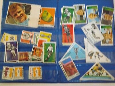 The Sun Soccer Stamps - Approx 60 In The Sun Duplicate Wallet