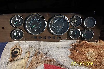AC Green pointer truck  Gauges cluster hot rod rat rod SCTA vintage