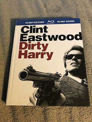 Dirty Harry (Blu-ray Disc, 2008) Digibook Clint Eastwood Action