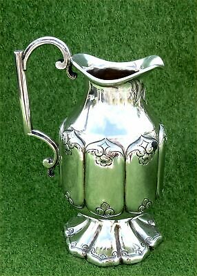 BEAUTIFUL ENGLISH SILVER CREAM JUG BY JOHN TONGUE - BIRMINGHAM 1863 - 4.47 ozt