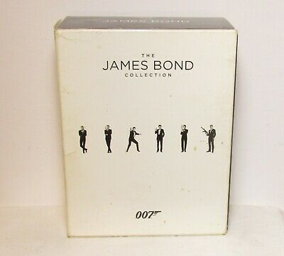 THE  JAMES BOND COLLECTION BLUE-RAY DVDd -  24 DISCS !!!