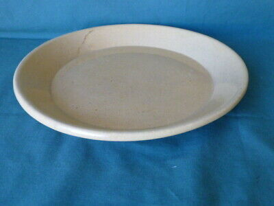 "Antique Yellow Ware Pie Plate 10 1/2"" Diameter"