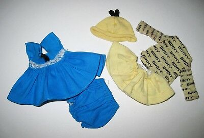 Tagged 1950s Vintage Vogue Ginny Doll Dress #6026 & Signature Jersey Outfit #30