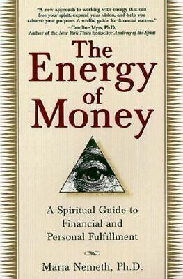 NEW Energy Of Money By Maria Nemeth Paperback Free Shipping