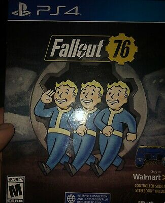 Fallout 76 EXCLUSIVE Edition w/ SteelBook PlayStation 4 NEW!!