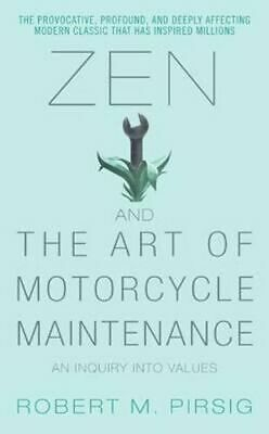 NEW Zen and the Art of Motorcycle Maintenance By Robert M. Pirsig Paperback