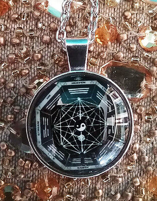 Feng Shui Bagua 3D Sri Yantra Sacred Geometry Pendant With Chain And Gift Box