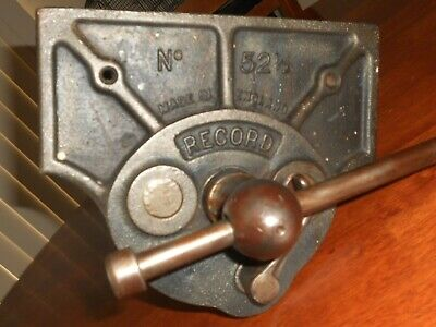 Vintage RECORD No. 52 1/2 Carpenter Quick Release Vice - made in England