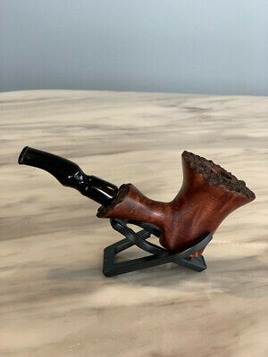 High Quality New Durable Tobacco Smoking Smoke Wooden Pipe With Pouch