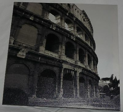 "30cm x 30cm Colosseium Photo CANVAS PRINT Coliseum ART 12"" x 12"" NEW"