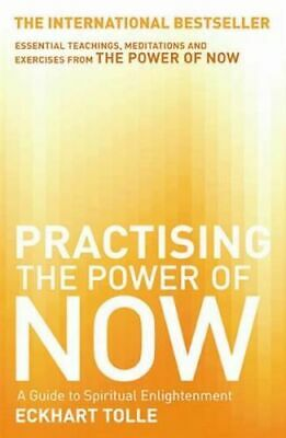 NEW Practicing the Power of Now By Eckhart Tolle Paperback Free Shipping