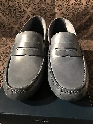 bfa6a7fb973 COLE HAAN COBURN Penny Driver Loafer - Men s Size 9M - Brown ...