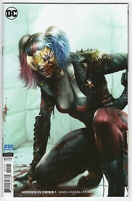 Heroes In Crisis #1 Mattina 1:200 Harley Quinn Dc Comics 2018 Nm-