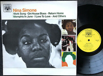 NINA SIMONE  Very rare 1965 selftitled UK MARBLE ARCH BLUES/JAZZ LP Release!