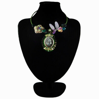 MOP Mother Of Pearl Hand-crocheted Necklace FA703004
