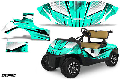 Golf Cart Graphics Kit Decal Sticker Wrap For E-Z-Go Freedom RXV 15-18 EMPIRE MT