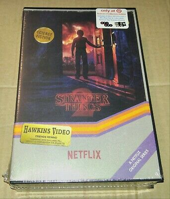 New Stranger Things 2 4K UHD/Blu-ray VHS Retro Packaging Target Exclusive