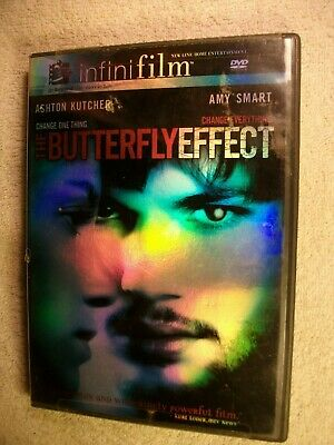 THE BUTTERFLY EFFECT  DVD, 2004, Theatrical Release and Directors Cut