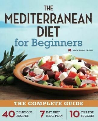 NEW Mediterranean Diet for Beginners By Rockridge Press Paperback Free Shipping
