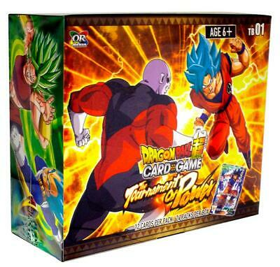 Dragon Ball Super Booster Box Tournament of Power TB01 English Factory Sealed