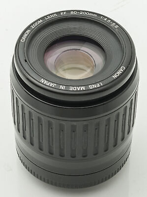 Canon Zoom Lens EF 80-200mm  80-200 mm 1:4.5-5.6 - Canon EOS